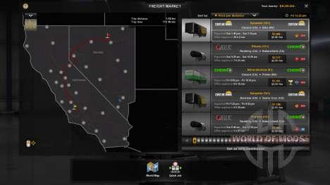 New economy (Klaas Economy-Mod - V1.1.11) für American Truck Simulator