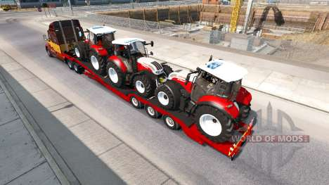 Bas de balayage Steyr Multi 4115 pour American Truck Simulator