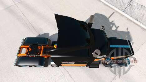 Die Flat-Top-Transport skin für den Peterbilt 38 für American Truck Simulator