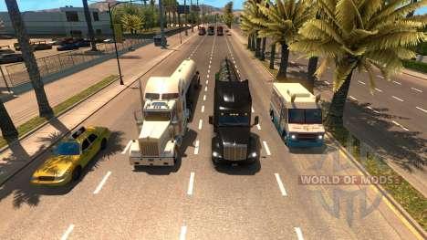 Plus de camions dans le trafic pour American Truck Simulator