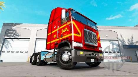 Haut auf SAIA-LKW Freightliner FLB für American Truck Simulator