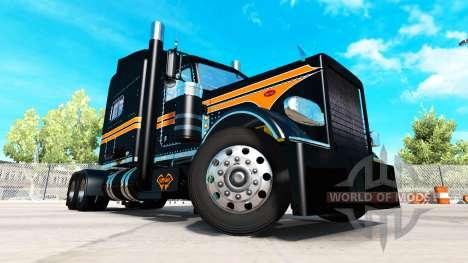 Haut Nationalen SRS für die truck-Peterbilt 389 für American Truck Simulator
