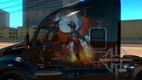 Kenworth T680 Skin Phoenix pour American Truck Simulator