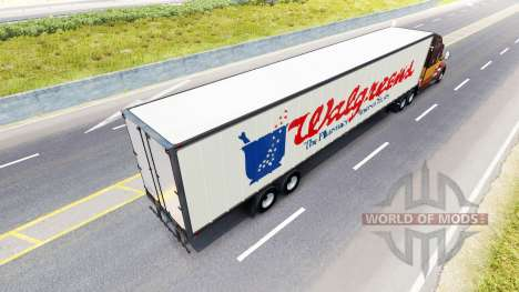 Semi-Walgreens pour American Truck Simulator