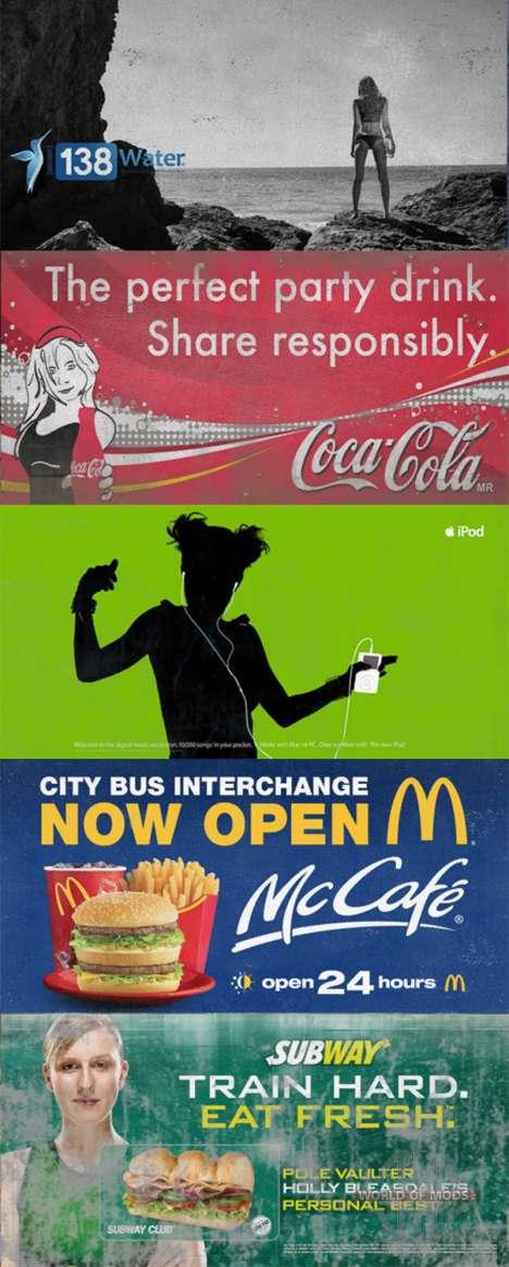 Echte Marken auf Plakaten für American Truck Simulator