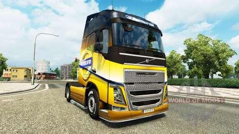 La Volvo Spécial 2012 de la peau pour Volvo cami pour Euro Truck Simulator 2