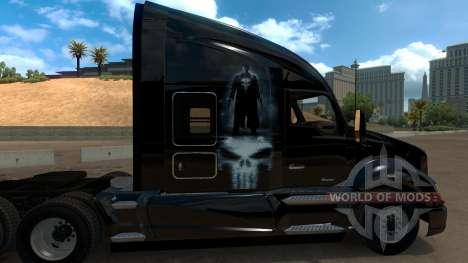 Skin Punisher for Kenworth T680 für American Truck Simulator