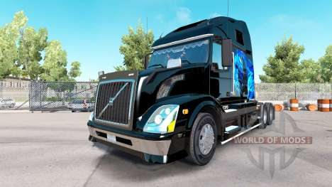 Volvo VNL 670 v1.1 pour American Truck Simulator