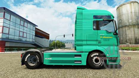 Haut-J. Simmerer auf die LKW-MANN für Euro Truck Simulator 2