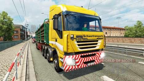 Malvorlagen der LKW Verkehr v1.1 für Euro Truck Simulator 2