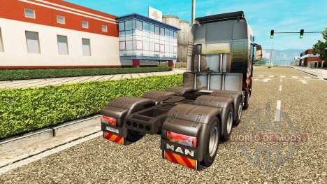 MAN TGX 8x8 pour Euro Truck Simulator 2