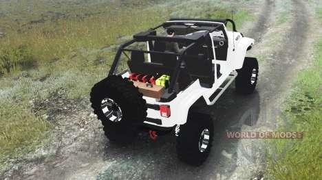 Jeep Wrangler Rubicon White [03.03.16] für Spin Tires