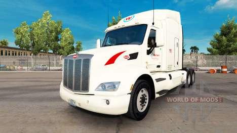 Wallbert skin für den truck Peterbilt für American Truck Simulator
