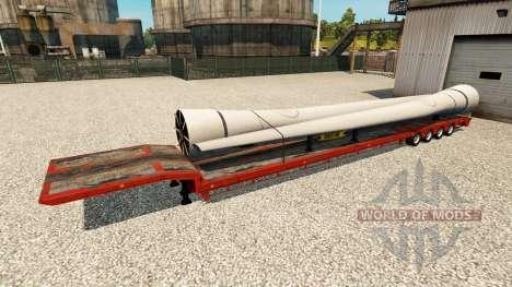 Eine Sammlung von Anhänger für Euro Truck Simulator 2