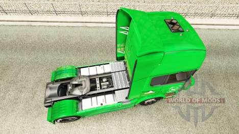 Raiffeisen de la peau pour Scania camion pour Euro Truck Simulator 2