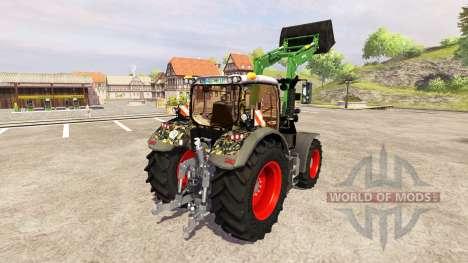 Fendt 724 Vario SCR [military] v3.0 pour Farming Simulator 2013