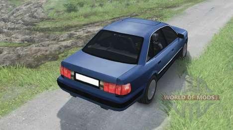 Audi 100 C3 Quattro [03.03.16] für Spin Tires