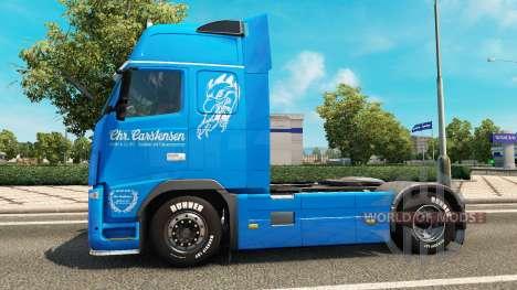 Carstensen skin für Volvo-LKW für Euro Truck Simulator 2
