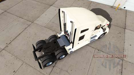 La peau Wallbert sur un tracteur Kenworth pour American Truck Simulator