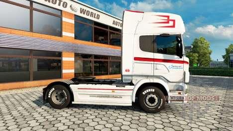 La peau Coppenrath & Wiese v1.1 sur le tracteur  pour Euro Truck Simulator 2