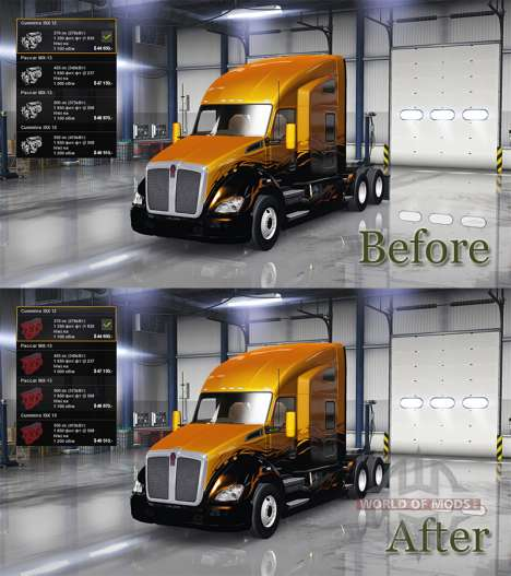 Neue icons Motoren für American Truck Simulator