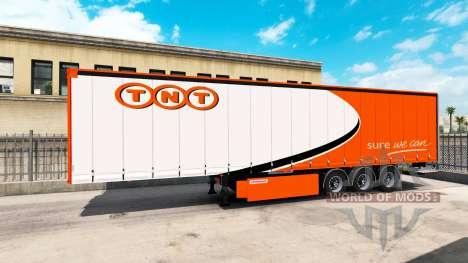 Eine Sammlung von 10 skins für Trailer für American Truck Simulator