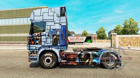 Haut Mass Effect 3 auf der Zugmaschine Scania für Euro Truck Simulator 2