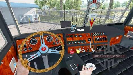 Kenworth K100 Long pour American Truck Simulator