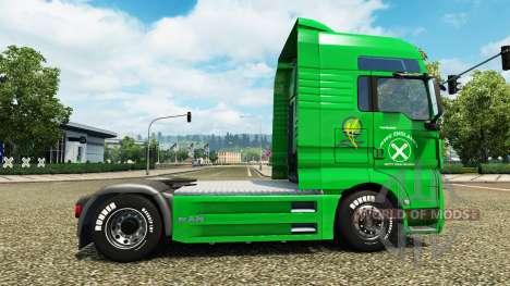Raiffeisen Haut auf die LKW-MANN für Euro Truck Simulator 2