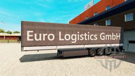 La Semi-Remorque Euro Logistics GmbH pour Euro Truck Simulator 2