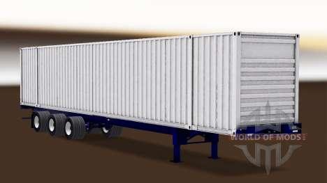 Autonomous, semi-container ship für American Truck Simulator
