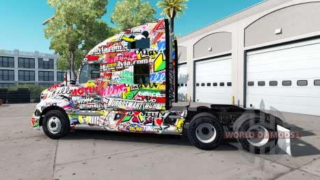 Haut Aufkleber für Peterbilt und Kenworth trucks für American Truck Simulator