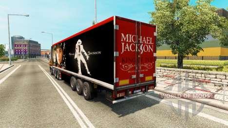 Semi-Michael Jackson pour Euro Truck Simulator 2