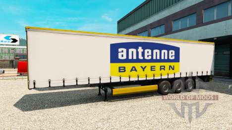 Semi-Antenne Bayern pour Euro Truck Simulator 2