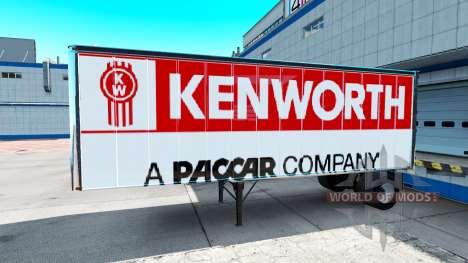Skins für Peterbilt und Kenworth semi für American Truck Simulator