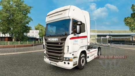 Haut Coppenrath & Wiese auf der Zugmaschine Scan für Euro Truck Simulator 2
