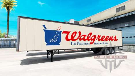 Semi-Walgreens für American Truck Simulator
