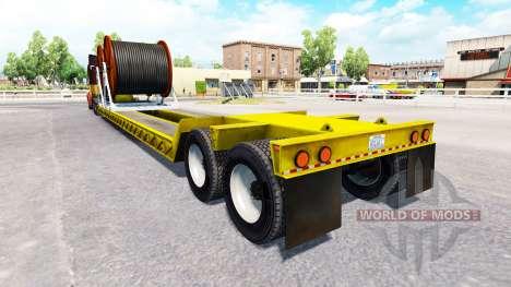 Bas de balayage avec câble pour American Truck Simulator