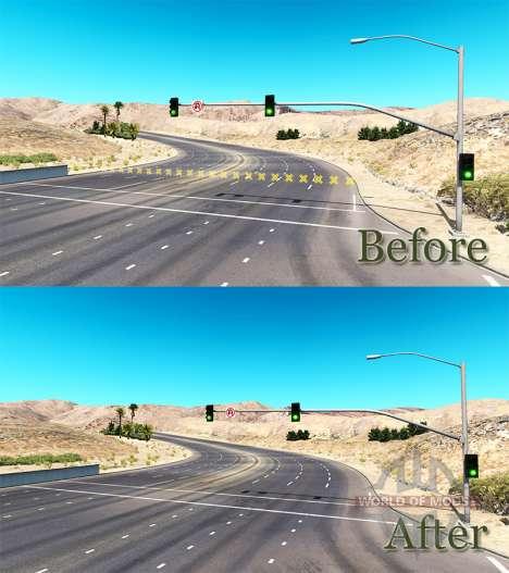Ohne Barrieren für American Truck Simulator