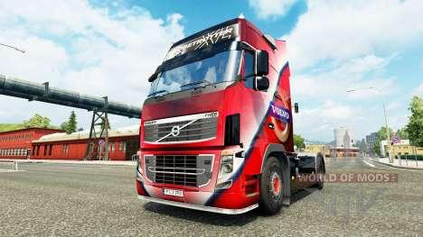 Volvo Speziellen skin für Volvo-LKW für Euro Truck Simulator 2