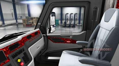 La mère de la perle de l'intérieur dans un Peter pour American Truck Simulator