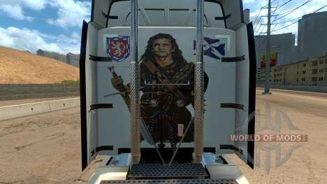 Peterbilt 579 Braveheart Truck Skin pour American Truck Simulator