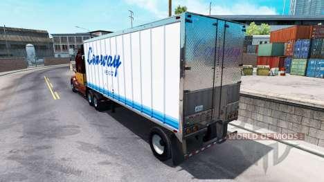 La peau de ConWay remorque pour American Truck Simulator