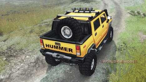 Hummer H2 [03.03.16] für Spin Tires