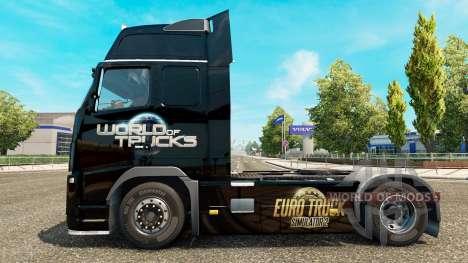 Le Monde des Camions de la peau pour Volvo camio pour Euro Truck Simulator 2