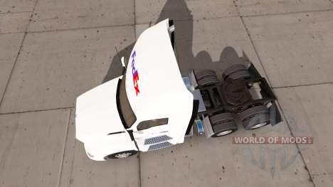 FedEx Haut für die Kenworth-Zugmaschine für American Truck Simulator