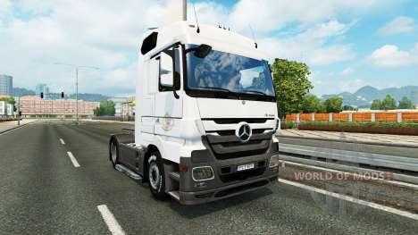Haut Coppenrath & Wiese auf der Sattelzugmaschin für Euro Truck Simulator 2