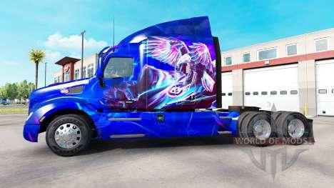 Eagle skin für den truck Peterbilt für American Truck Simulator