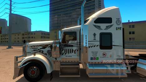 Uncle D Logistics - Master Craft Kenworth W900 S pour American Truck Simulator