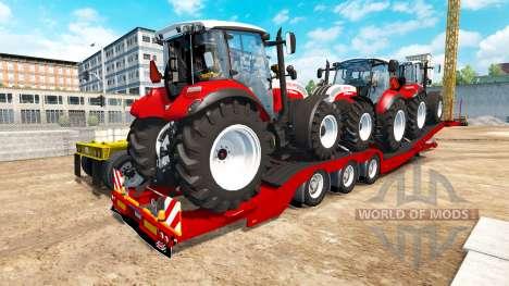 Low sweep Steyr Multi 4115 für American Truck Simulator